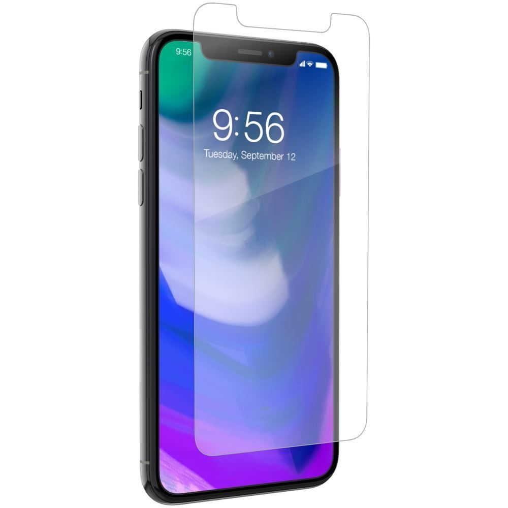 Zagg Invisible Shield Glass+ - Extreme Impact and Scratch Protection iPhone X / XS (200101013)
