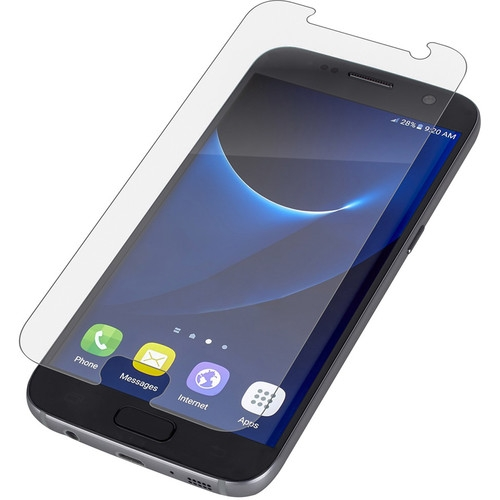 Zagg Invisible Shield glass & Full Face Coverage Samsung Galaxy S7 - Clear (GS7GLS-F00)