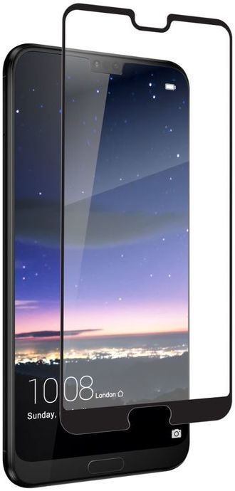 Zagg Invisible Shield glass & Curved Full Face Huawei P20 Pro - Black Finish (200101548)