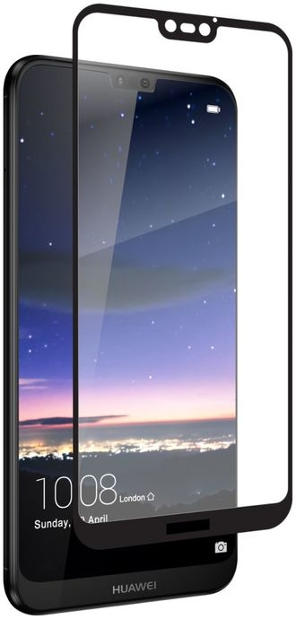 Zagg Invisible Shield glass & Curved Full Face Huawei P20 Lite - Black Finish (200101549)